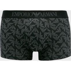 Emporio Armani - Bokserki. Czarne bokserki męskie Emporio Armani, z bawełny. Za 169,90 zł.