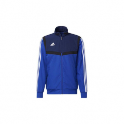Bluzy dresowe adidas  Bluza wyjściowa Tiro 19. Niebieskie bluzy dresowe męskie Adidas, l. Za 249,00 zł.