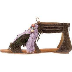 Rzymianki damskie: Cassis côte d'azur NOUCHKA Sandały z cholewką bronze