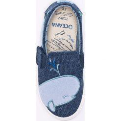 Toms - Tenisówki dziecięce. Szare buty sportowe dziewczęce marki Toms, z gumy, z okrągłym noskiem. W wyprzedaży za 129,90 zł.