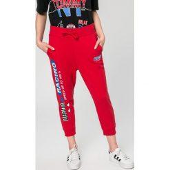 Tommy Jeans - Spodnie. Szare bryczesy damskie marki Tommy Jeans, z podwyższonym stanem. Za 449,90 zł.