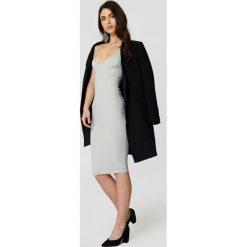 Sukienki hiszpanki: Rebecca Stella Sukienka ze sznurowaniem – Grey