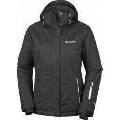 Columbia Kurtka On The Slope Jacket Black Xs. Czarne kurtki damskie narciarskie marki 4f, na jesień, m, z dzianiny, z kapturem. W wyprzedaży za 499,00 zł.