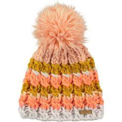 Barts - Czapka Feather. Różowe czapki zimowe damskie marki Barts, na zimę, z dzianiny. W wyprzedaży za 69,90 zł.
