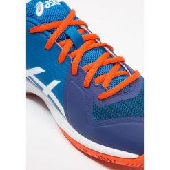 ASICS GELTACTIC Obuwie do siatkówki blue print/white. Niebieskie buty do siatkówki męskie marki Asics, z gumy. Za 419,00 zł.