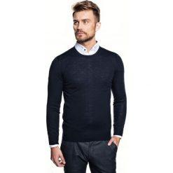 Sweter vetica półgolf granatowy. Niebieskie swetry klasyczne męskie Recman, m, z golfem. Za 149,00 zł.