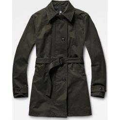 G-Star Raw - Kurtka. Czarne kurtki damskie marki G-Star RAW, l, w paski, z bawełny. W wyprzedaży za 849,90 zł.
