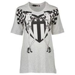 T-shirty damskie: T-shirt w kolorze jasnoszarym