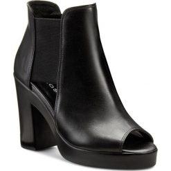 Botki WOJAS - 6567-51 Czarny. Czarne buty zimowe damskie Wojas, z materiału. Za 359,00 zł.