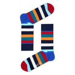 Skarpety Happy Socks Stripes (SA01-605). Czarne skarpetki męskie marki Stance. Za 29,99 zł.