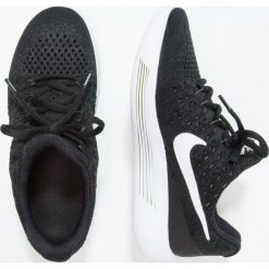 Buty sportowe dziewczęce: Nike Performance LUNAREPIC LOW FLYKNIT 2 GS Obuwie do biegania treningowe black/white/lava glow
