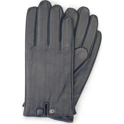 Rękawiczki męskie 39-6-715-GC. Niebieskie rękawiczki męskie marki Wittchen, z polaru. Za 149,00 zł.
