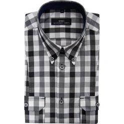 Koszula ALESSIO D 15-05-09-K. Białe koszule męskie jeansowe marki Giacomo Conti, m, button down. Za 129,00 zł.