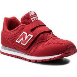 Trampki chłopięce: Sneakersy NEW BALANCE – KV373FRY Czerwony