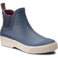 Kalosze GANT - Mandy 15599996 Marine G69. Niebieskie buty zimowe damskie GANT, z materiału. W wyprzedaży za 179,00 zł.