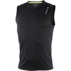 Koszulki do fitnessu męskie: koszulka do biegania męska REEBOK RUNNING ESSENTIALS SLEEVELESS TEE / AJ0348 - REEBOK RUNNING ESSENTIALS SLEEVELESS TEE