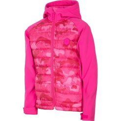 Kurtki dziewczęce: Softshell dla małych dziewczynek JSFD301 – różowy