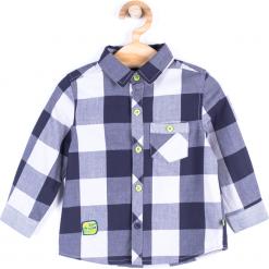 Koszula. Szare koszule chłopięce z długim rękawem Cars, z bawełny. Za 29,90 zł.