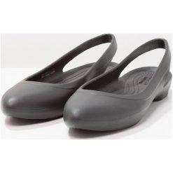 Rzymianki damskie: Crocs EVE SLINGBACK Sandały kąpielowe black