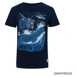 T - shirt North Sea. Niebieskie t-shirty męskie Pakamera, m, z bawełny. Za 89,00 zł.