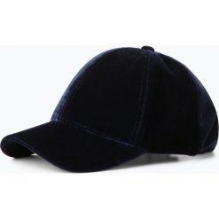 Czapki damskie: Marie Lund - Damska czapka z daszkiem, niebieski