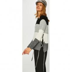 Haily's - Sweter Dani. Szare swetry klasyczne damskie Haily's, l, z dzianiny, z okrągłym kołnierzem. Za 119,90 zł.