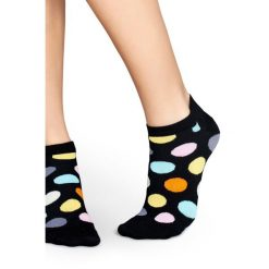 Happy Socks - Skarpety Big Dot. Szare skarpetki męskie Happy Socks, z bawełny. W wyprzedaży za 19,90 zł.