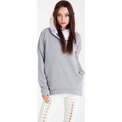 Bluzy rozpinane damskie: Naoko - Bluza Cosy Pierre Gris x Edyta Górniak