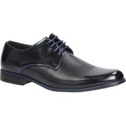 Czarne buty wizytowe sznurowane Casu MXC410. Czarne buty wizytowe męskie Casu, na sznurówki. Za 79,99 zł.