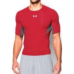 Under Armour Koszulka męska CoolSwitch Short Sleeve czerwono-szara r. L (1271334600). Szare koszulki sportowe męskie marki Under Armour, z elastanu, sportowe. Za 109,90 zł.