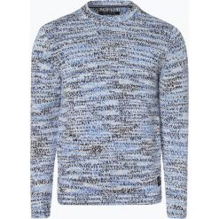 Marc O'Polo - Sweter męski, czarny. Czarne swetry klasyczne męskie Marc O'Polo, m, z bawełny, polo. Za 649,95 zł.