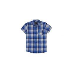 Koszula męska z kieszonką, Z KOŁNIERZEM. Szare koszule męskie marki TXM, z dresówki. Za 29,99 zł.