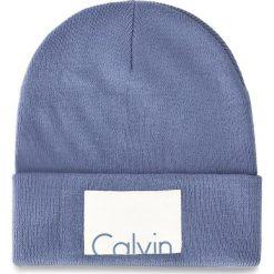 Czapka CALVIN KLEIN JEANS - Calvin Beanie W K60K603452 439. Szare czapki zimowe damskie marki Calvin Klein Jeans, na zimę, z jeansu. Za 129,00 zł.