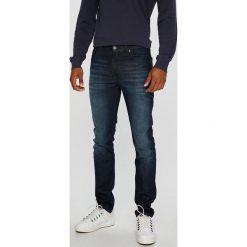 Lee - Jeansy Rider. Niebieskie jeansy męskie slim Lee. Za 349,90 zł.