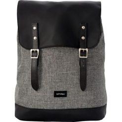 Plecaki męskie: Spiral UK Crosshatch Charcoal Plecak czarny/grafit