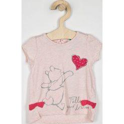Blukids - Top dziecięcy 68-98 cm. Różowe bluzki dziewczęce marki Mayoral, z bawełny, z okrągłym kołnierzem. Za 49,90 zł.