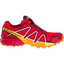 Buty sportowe męskie: Salomon Buty męskie Speedcross 4 GTX Fiery Red/Red Dahlia/Bright Marigold r. 44 (400932)