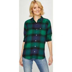 Levi's - Koszula. Brązowe koszule damskie w kratkę marki Levi's®, z obniżonym stanem. Za 279,90 zł.