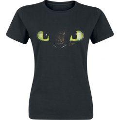 Drachenzähmen leicht gemacht Ohnezahn Koszulka damska czarny. Czarne t-shirty damskie Drachenzähmen leicht gemacht, l, z nadrukiem, z okrągłym kołnierzem. Za 74,90 zł.
