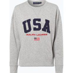 Bluzy damskie: Polo Ralph Lauren - Damska bluza nierozpinana, szary
