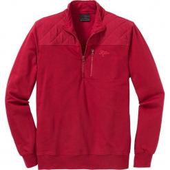 Bluza ze stójką Regular Fit bonprix ciemnoczerwony. Czerwone bejsbolówki męskie bonprix, l. Za 109,99 zł.
