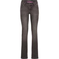 Dżinsy SLIM bonprix szary denim. Niebieskie jeansy damskie marki House, z jeansu. Za 59,99 zł.