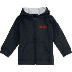 Bejsbolówki męskie: AC/DC Black Ice Bluza z kapturem dziecięca - rozpinana czarny