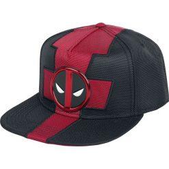 Czapki męskie: Deadpool Logo Czapka Snapback czarny/czerwony