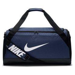 Torby podróżne: Nike Torba sportowa Brasilia M granatowa (BA5334-410)