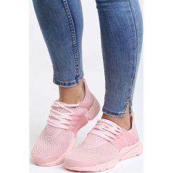 Różowe Buty Sportowe Soft. Czerwone buty sportowe damskie marki KALENJI, z gumy. Za 39,99 zł.