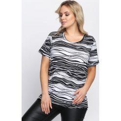 T-shirty damskie: Czarny T-shirt Muddling