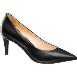 Szpilki damskie 5th Avenue czarne. Czarne szpilki marki 5th Avenue, z materiału. Za 199,90 zł.