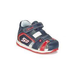 Sandały Dziecko  Chicco  GONEY. Niebieskie sandały chłopięce Chicco. Za 125,30 zł.