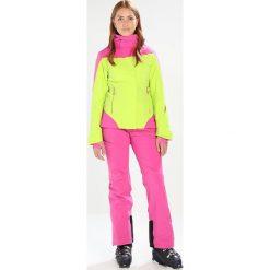 Odzież damska: Salomon ICEROCKET Kurtka snowboardowa acid lime/rose